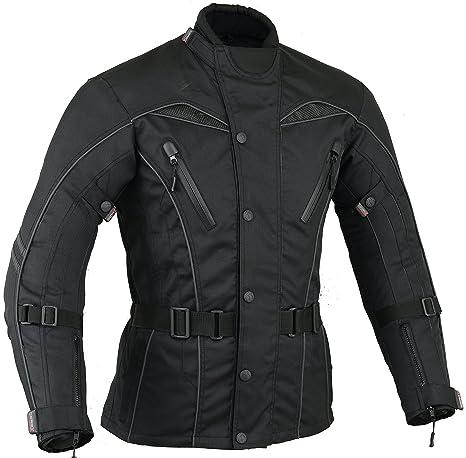 Urban Motocicleta Hombre Motos Viento / impermeable chaqueta transpirable, Talla XL