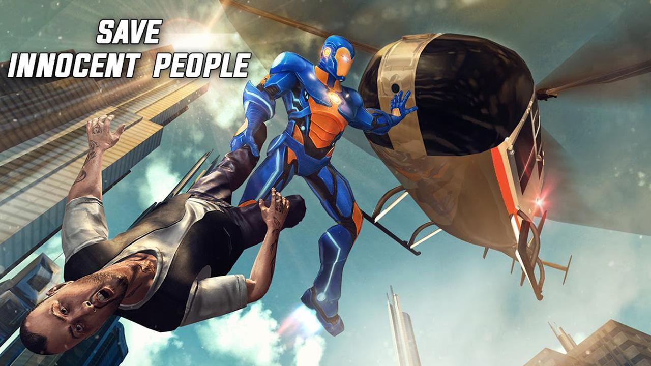 Flying Hero Fighting Champ Crime City Vegas Gangster Revenge ...