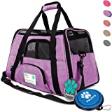 PetAmi Premium Airline Approved Soft-Sided Pet Travel Carrier by Ventilated, Comfortable Design with Safety Features | Ideal for Small to Medium Sized Cats, Dogs, and Pets
