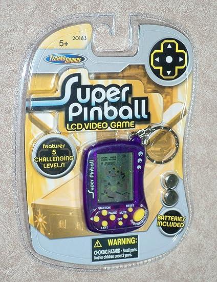 Amazon.com  Super Pinball Keychain Games c33bdf8f4c18
