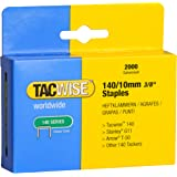 Tacwise Heavy Duty 140 Type 10mm Staples fo Staple Gun (2000)