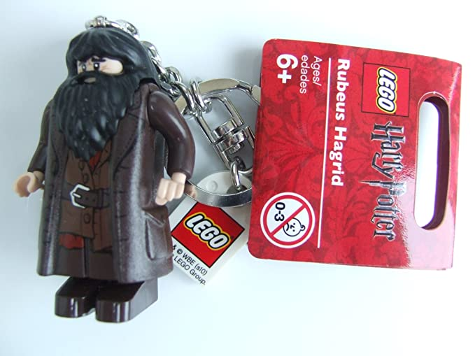 Amazon.com: LEGO Harry Potter Rubeus Hagrid llavero: Office ...