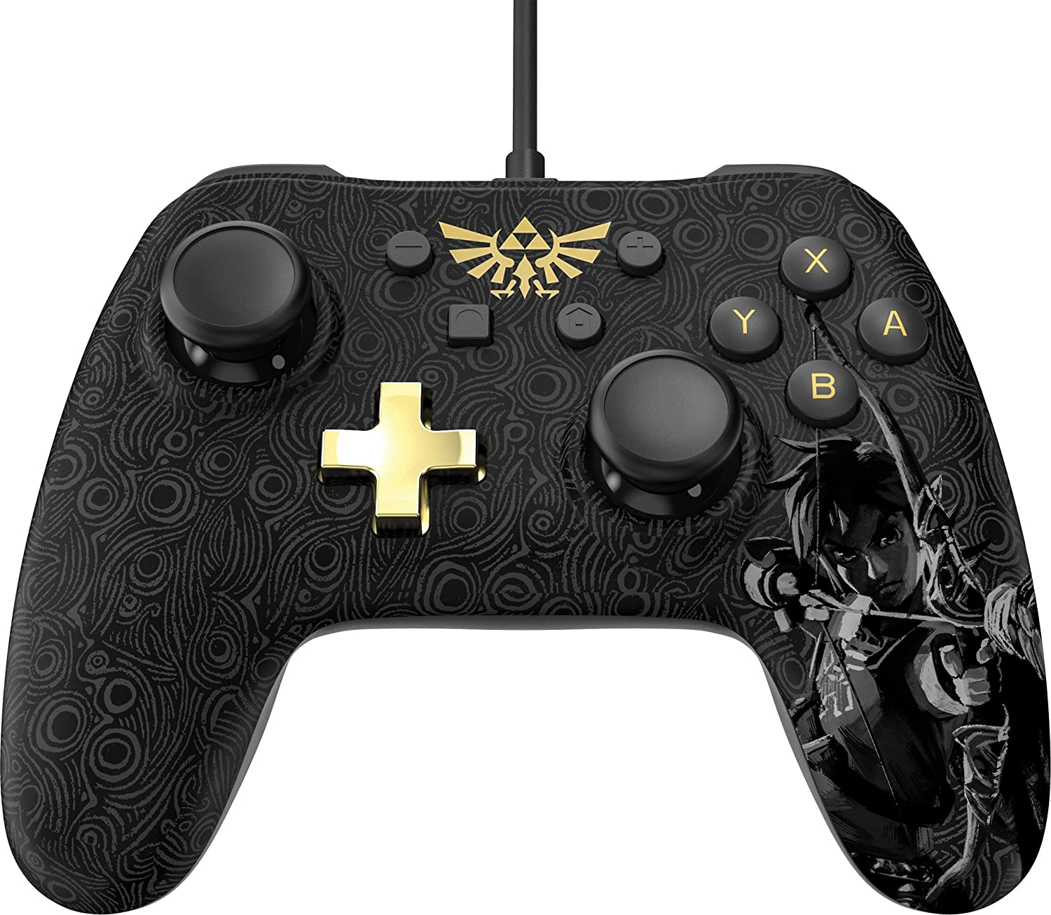 Powera Nintendo Switch Wired Controller Plus Zelda Breath Of The Wild Video Games