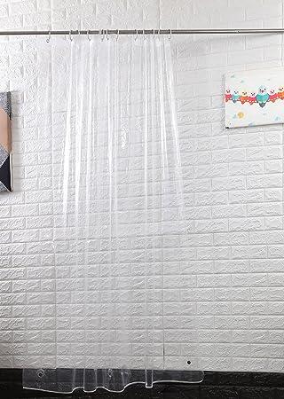 sfoothome wasserdicht polyester stoff vorhang fr die dusche midew bestndig waschbar bad vorhang fr badezimmer - Stoff Vorhang Dusche