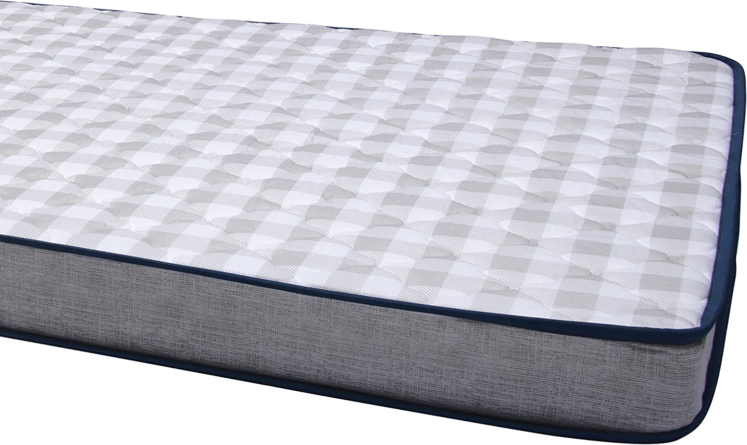 Navy Blue Twin-38 x 75 Foam Mattress Mobile InnerSpace TM-3875 RV And Truck Maximizer 7 Grey//White