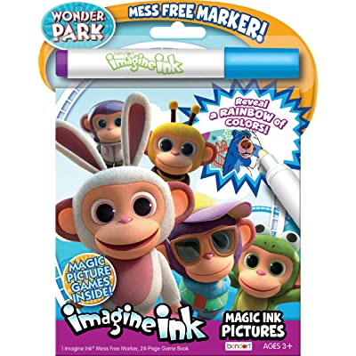 Wonder Park Bendon 37230 Imagine Ink Magic Ink Pictures Drawing and Painting Supplies, Multicolor: Toys & Games [5Bkhe1202387]