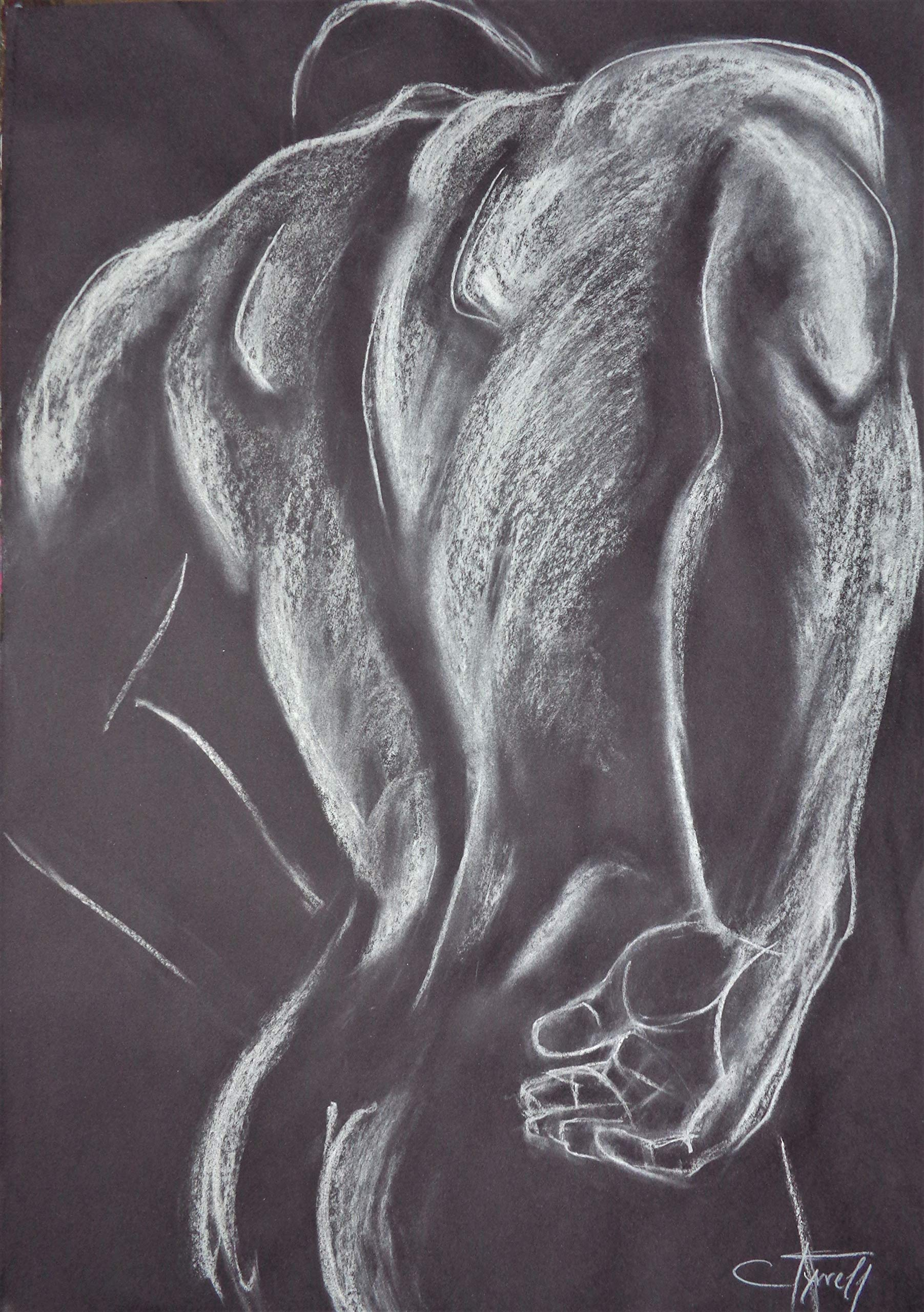Man Nude Figure 3 by