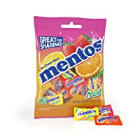12-Pack Mentos Chewy Mint Candy Fruit 40 Piece