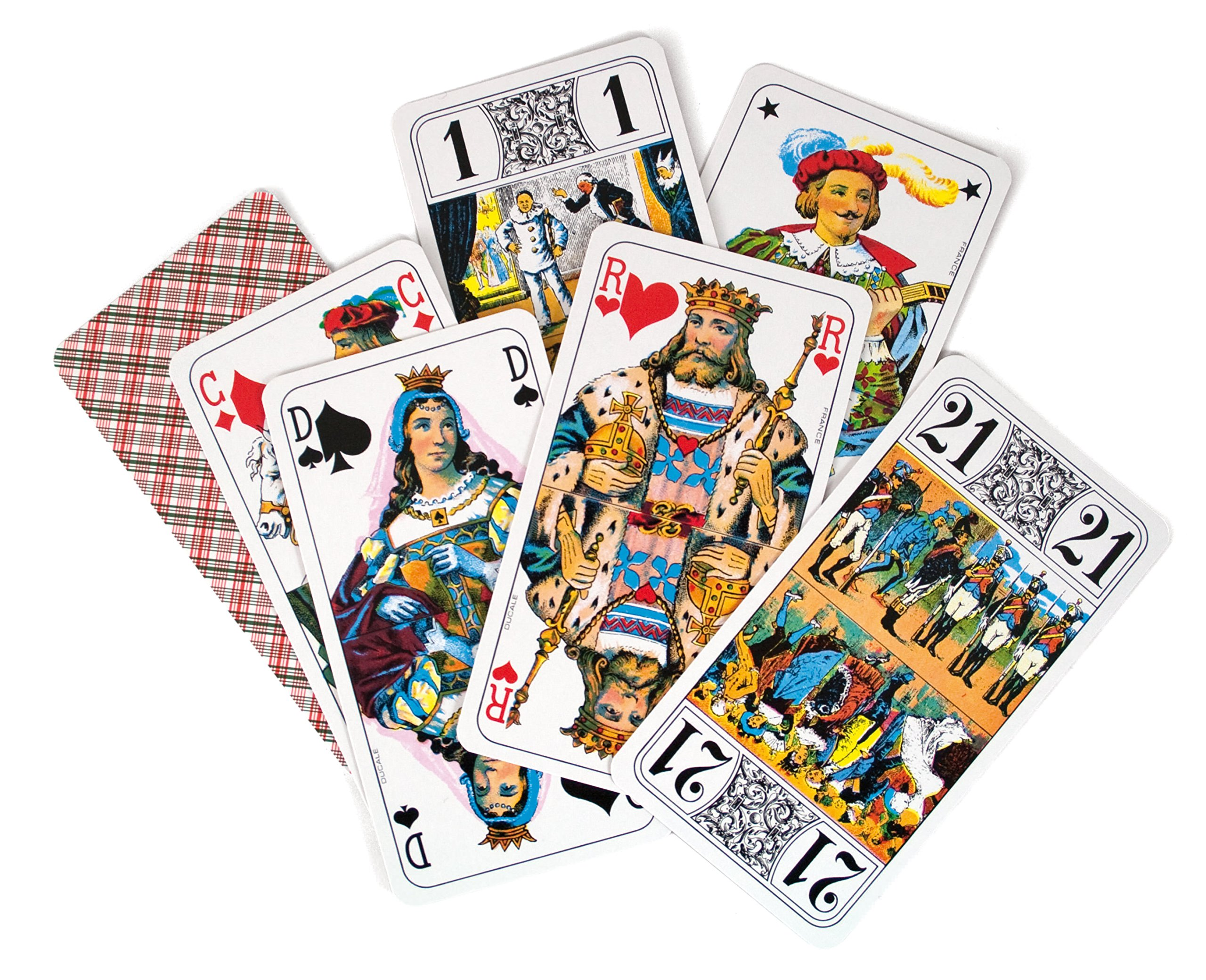 FRANCE CARTES-404680-Card Game-Tarot 78Cards Ducale by FRANCE CARTES (Image #7)