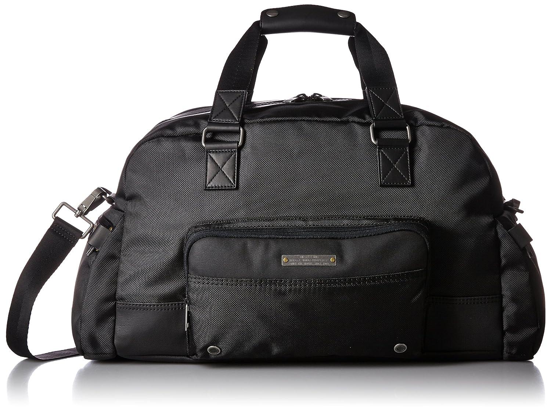 (ディーゼル) DIESELメンズ Mix Materials SUPERRGEAR MAT GEAR DUFFLE travel bag B017X8PUG0ブラック UNI