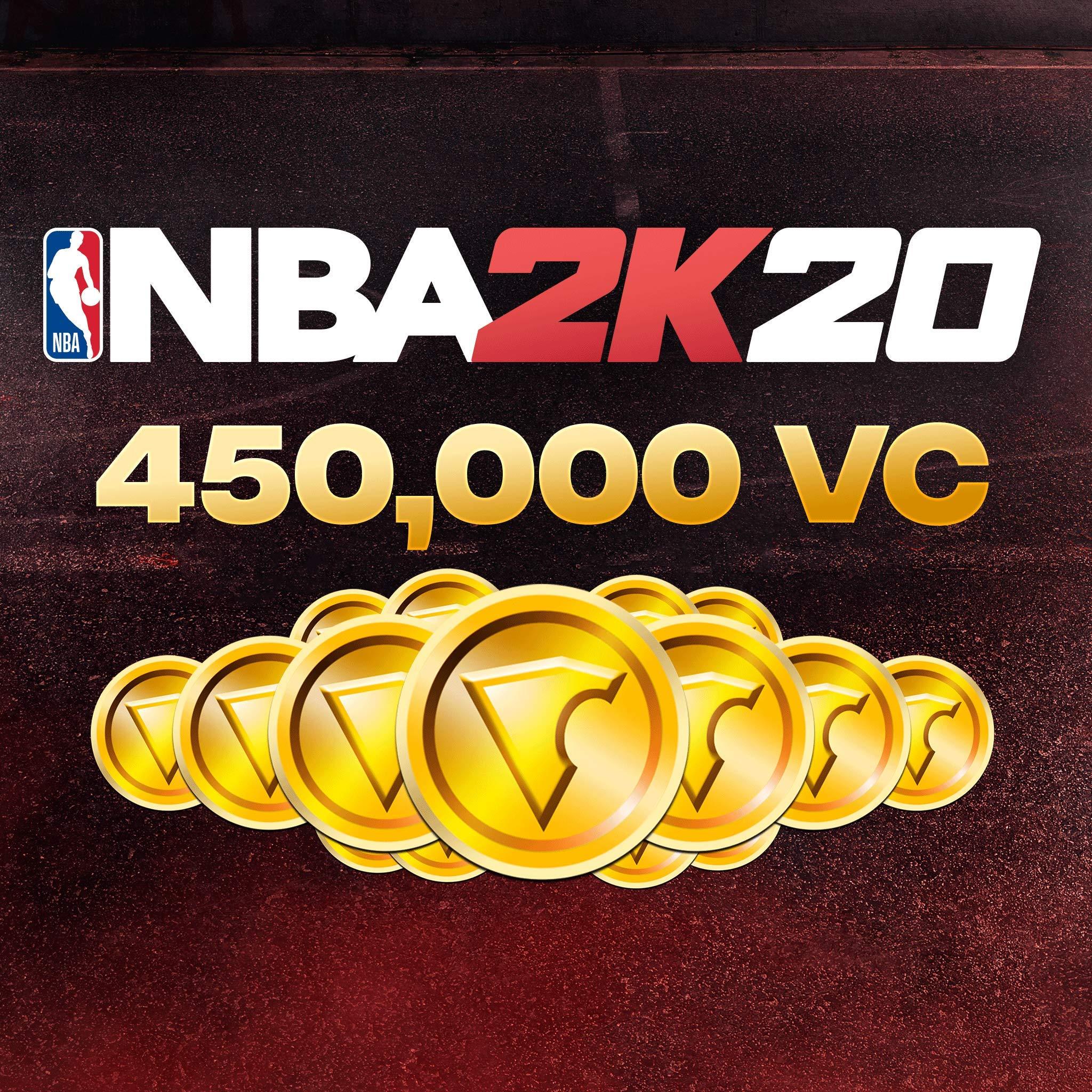 NBA 2K20: 450000 VC Pack - [PS4 Digital Code] by 2K Games