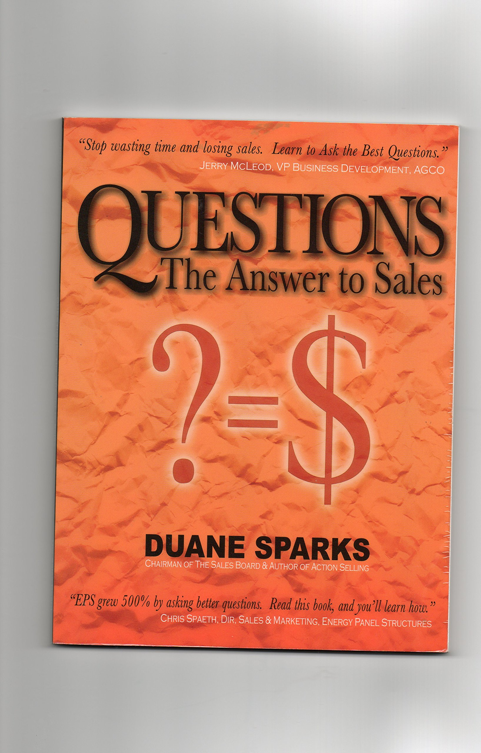 questions the answer to s duane sparks 9780975356937 amazon questions the answer to s duane sparks 9780975356937 amazon com books