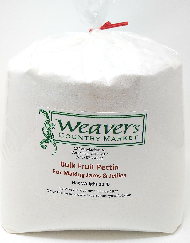 Weaver's Country Market Bulk Fruit Pectin Mix for Making Jams & Jellies (10 Lb. Plastic Bag)