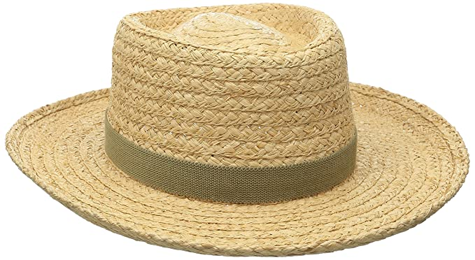 6e8b8bc63 Scala Men's Raffia Gambler Hat