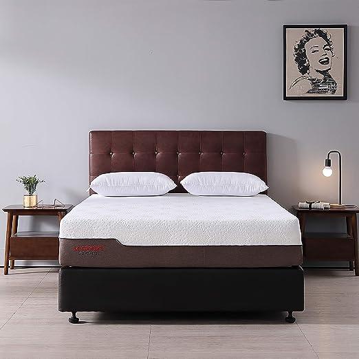 Amazon Com Full Size 12 Inch Foam Mattress Le Confort Cool Gel