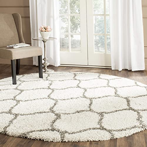 Safavieh Hudson Shag Collection SGH280A Moroccan Ogee 2-inch Thick Area Rug