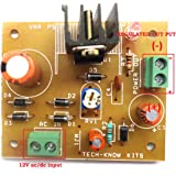 SKE LM317 Adjustable Voltage Regulator Power Supply Module Board