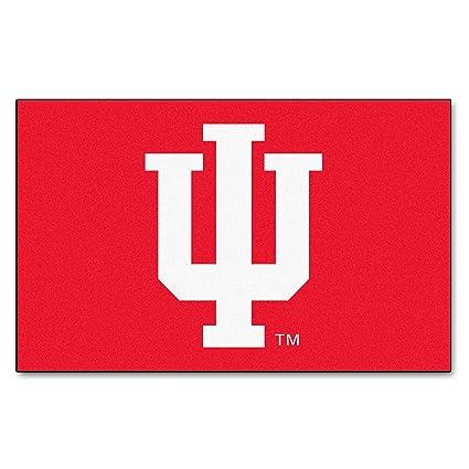 Amazon Indiana University Logo Area Rug Sports Outdoors