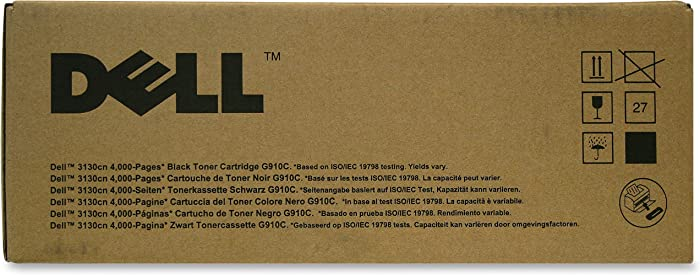 Dell Computer G910C Toner Cartridge f/3130 4 000 Page Yield Black