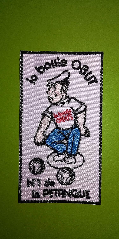 10 CM A633 Patch ECUSSON Petanque LA Boule OBUT 5,5