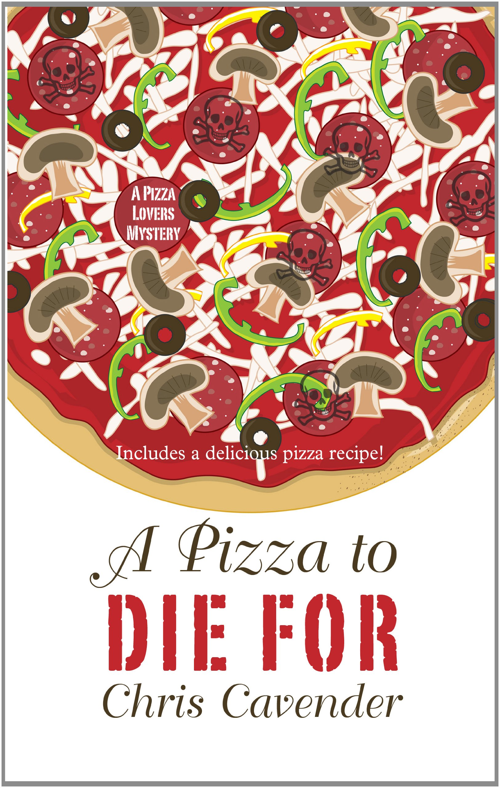 Download A Pizza to Die For (Thorndike Press Large Print Mystery) PDF