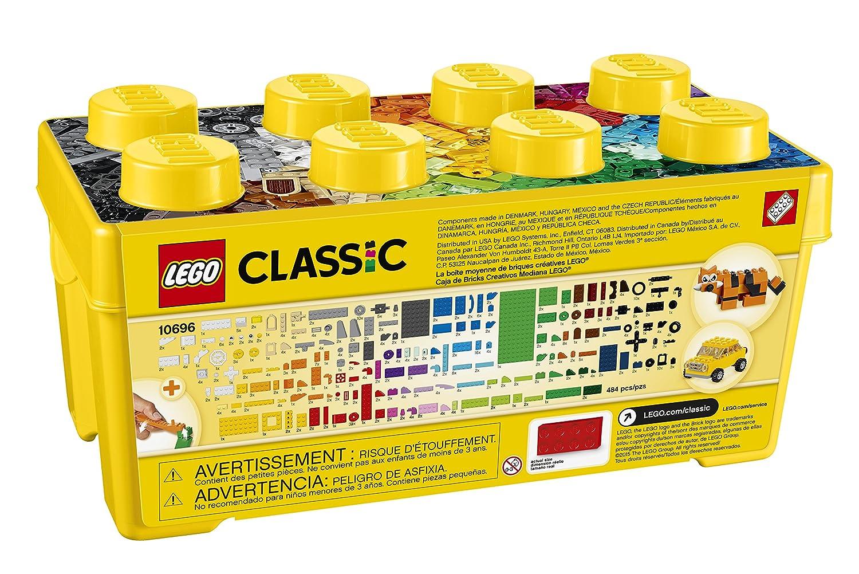 new lego classic medium creative brick box 10696 fast free shipping. Black Bedroom Furniture Sets. Home Design Ideas