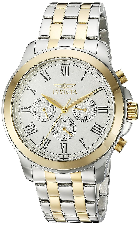 Invicta Men s 21659 Specialty Analog Display Swiss Quartz Two Tone Watch