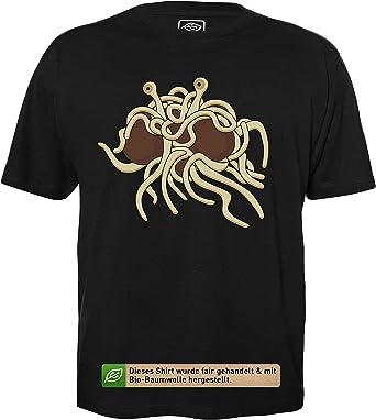 getDigital Monstruo Espagueti Volador - Camisa Hecha de algodón orgánico 100%.