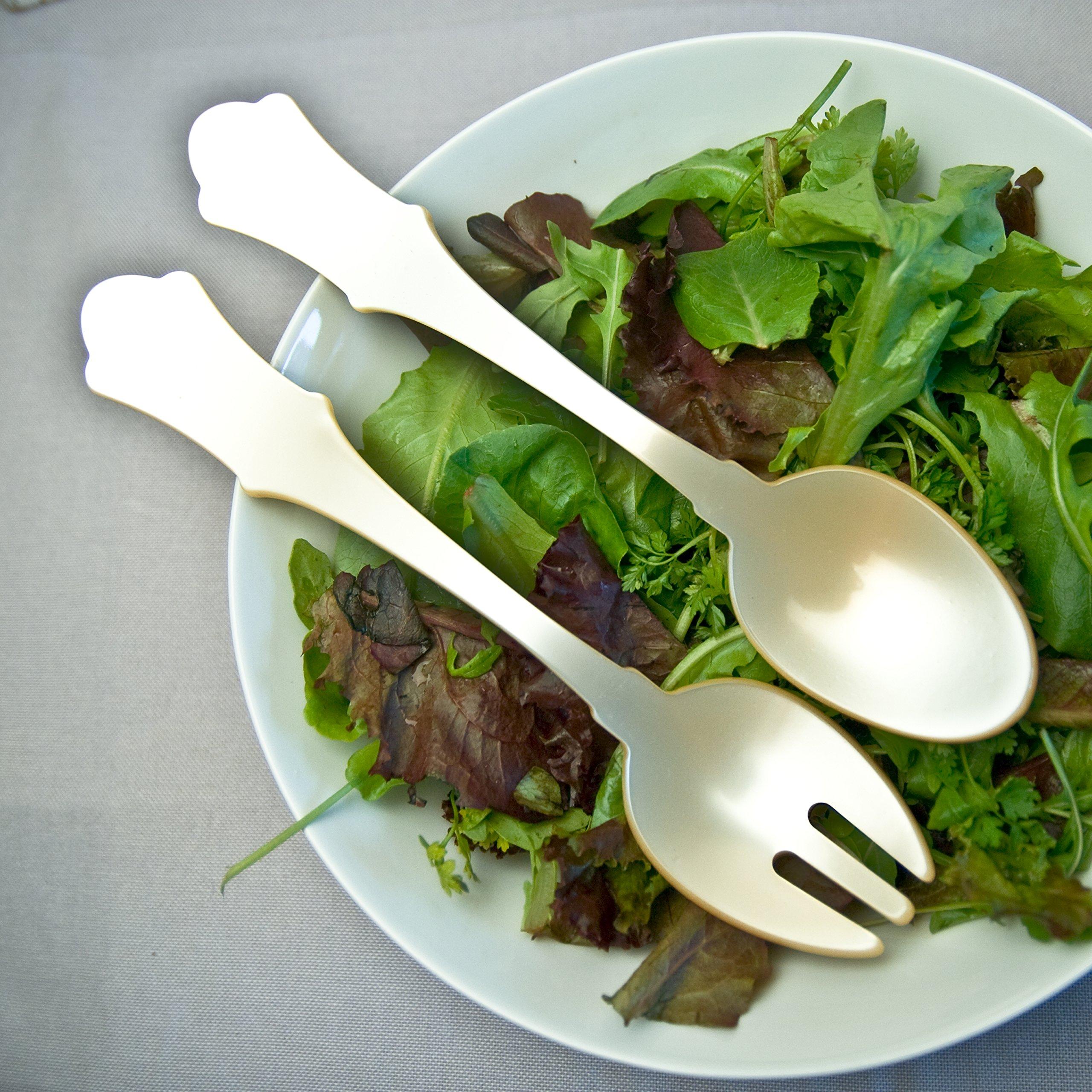 Sabre Salad Server Pearl 2pcs