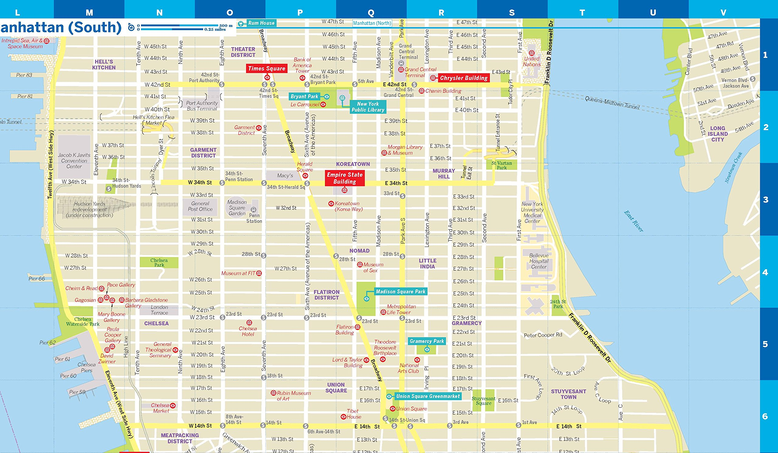 Lonely Planet New York City Map Lonely Planet City Maps: Amazon.de ...
