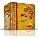 RooiLife Organic Rooibos Tea Bags 80pc Delicious South Africa Red Bush Rooibos–100% Pure, Organic, Healthy, Calorie Free, Caffeine Free, Anti-Oxidant Rich, Rooibos Chai Loose Non-GMO Herbal Tea Bags