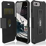 Urban Armor Gear IPH7/6SPLS-E-BL Etui folio pour iPhone 7 Plus Noir
