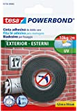Tesa Powerbond - Cinta de doble cara para exteriores (1,5 m x 19 mm), negro
