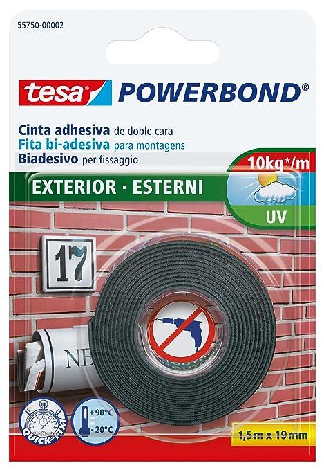 56 opinioni per Tesa 55750-00002-02 Powerbond Nastro Biadesivo Forte per Esterni, 1,5m:19mm
