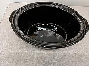 Compatible with Kenmore 7 QT (Model # 80010) / 5 QT (Model # 88918) Slow Cooker Porcelain Liner (1, 7 QT)