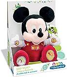 Clementoni Animales de Cine y Television Peluche juega y aprende Mickey Color roja 65191.7