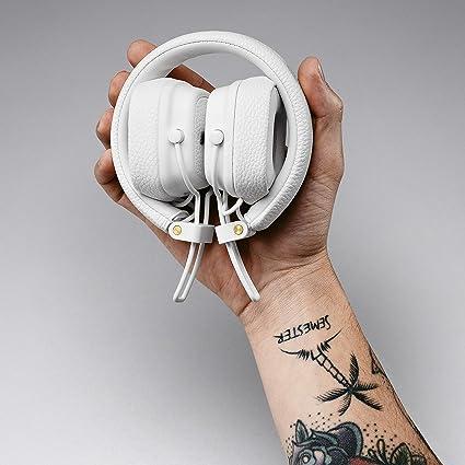 Amazon.com: Marshall Major III Wired On- Ear Headphone, White - New, 6.3 x 6.3 x 3.4: Electronics