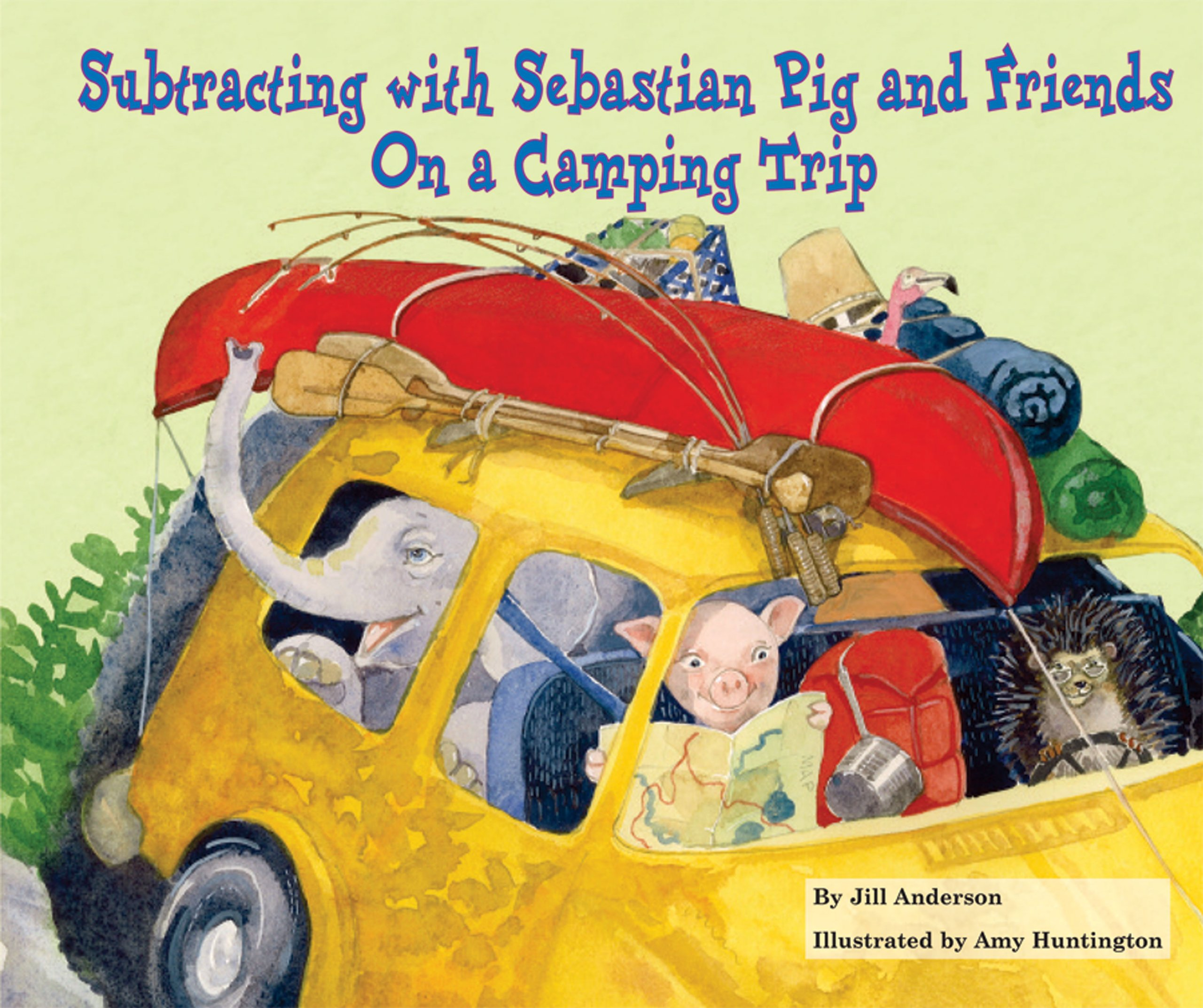 Subtracting with Sebastian Pig and Friends on a Camping Trip ...