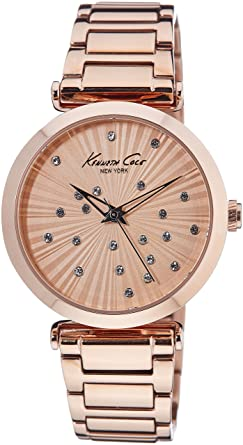 Kenneth Cole New York Mens KC0019 Classic Analog Display Analog Quartz Rose Gold Watch