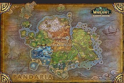 Amazon Com Cgc Huge Poster World Of Warcraft Mists Of Pandaria
