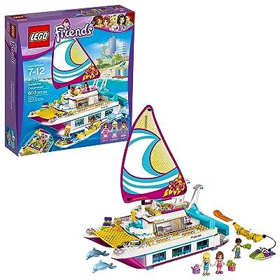 LEGO Friends Sunshine Catamaran 41317 Building Kit (603 Piece): Toys & Games