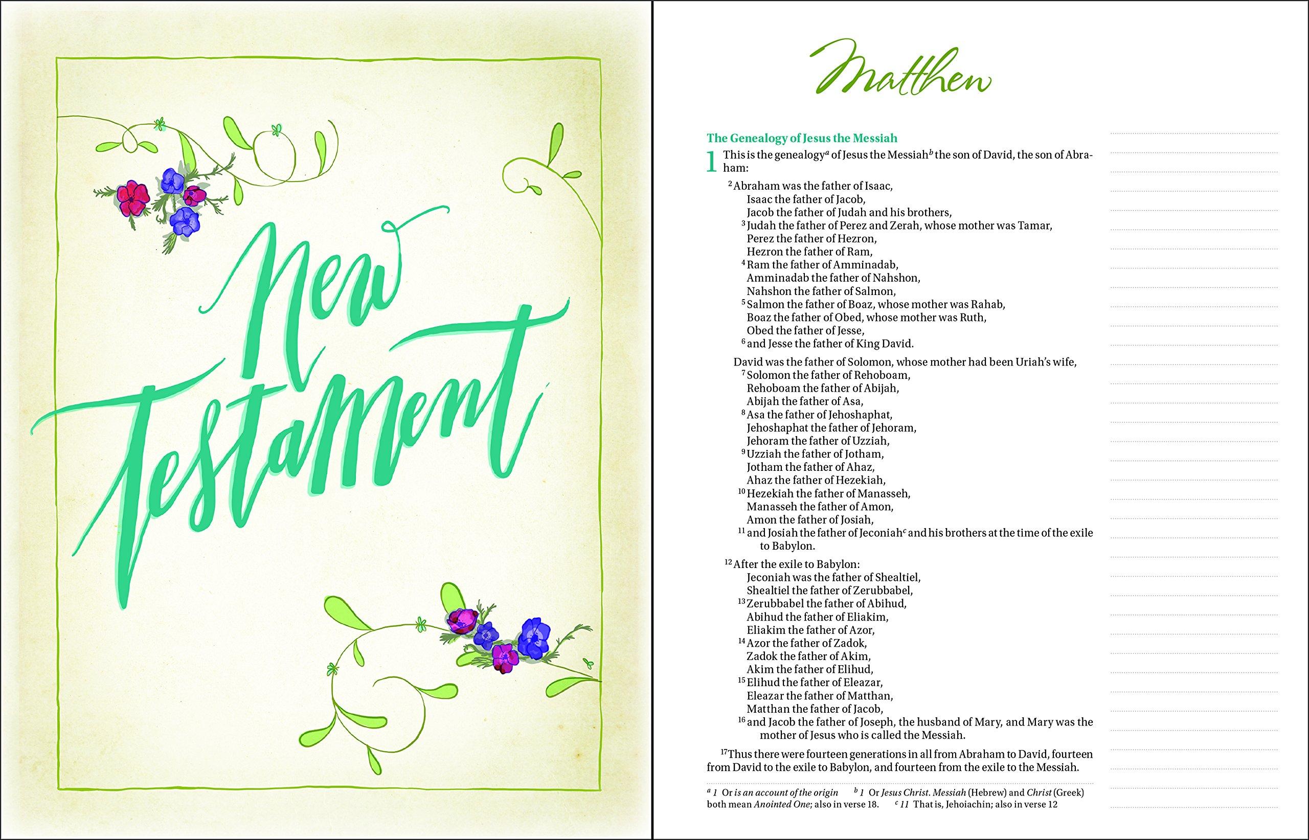 niv beautiful word bible hardcover 500 full color illustrated