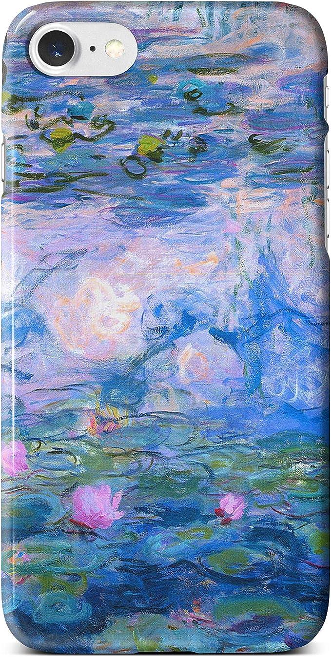 iCaseDesigner Classic Art Collection Coque pour iPhone Coque inspirée de peintures célèbres., plastique, Nénuphars - Monet, iPhone 6 / 6S