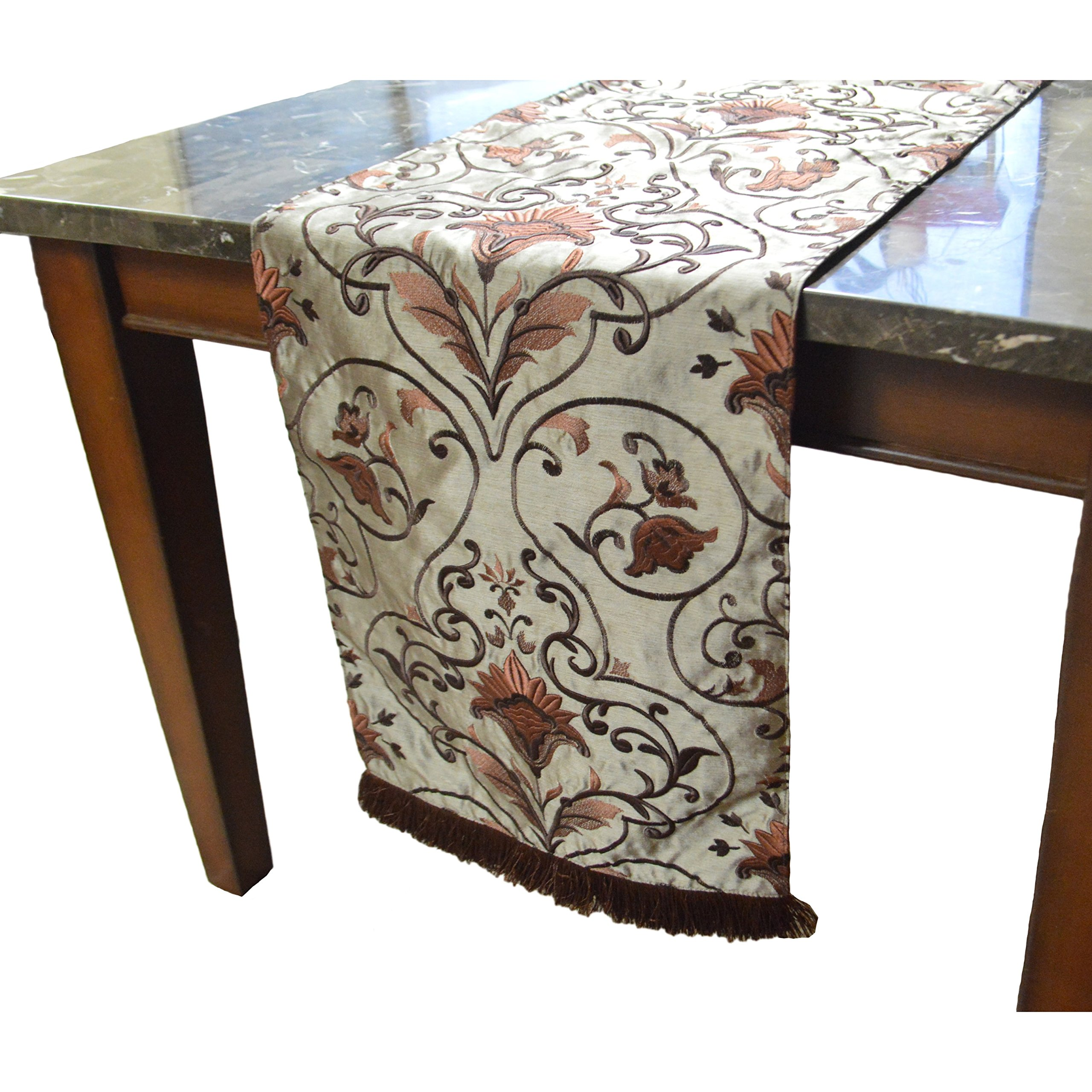 Canaan Company Claudia Decorative Table Runner 16 x 108