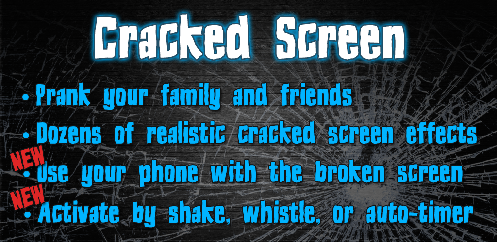 crack your screen prank app