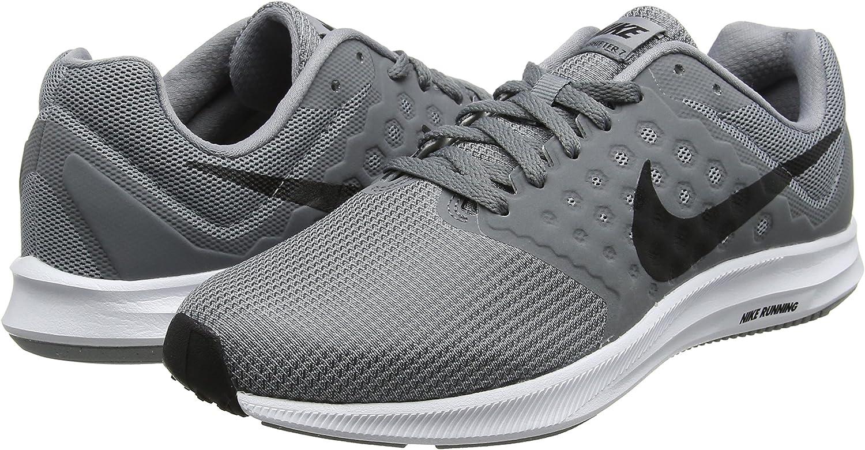 cerca Telégrafo Independientemente  Nike Downshifter 7, Zapatillas de Running Hombre, Gris (Stealth/black-cool  Grey-white), 45 EU: Amazon.es: Zapatos y complementos