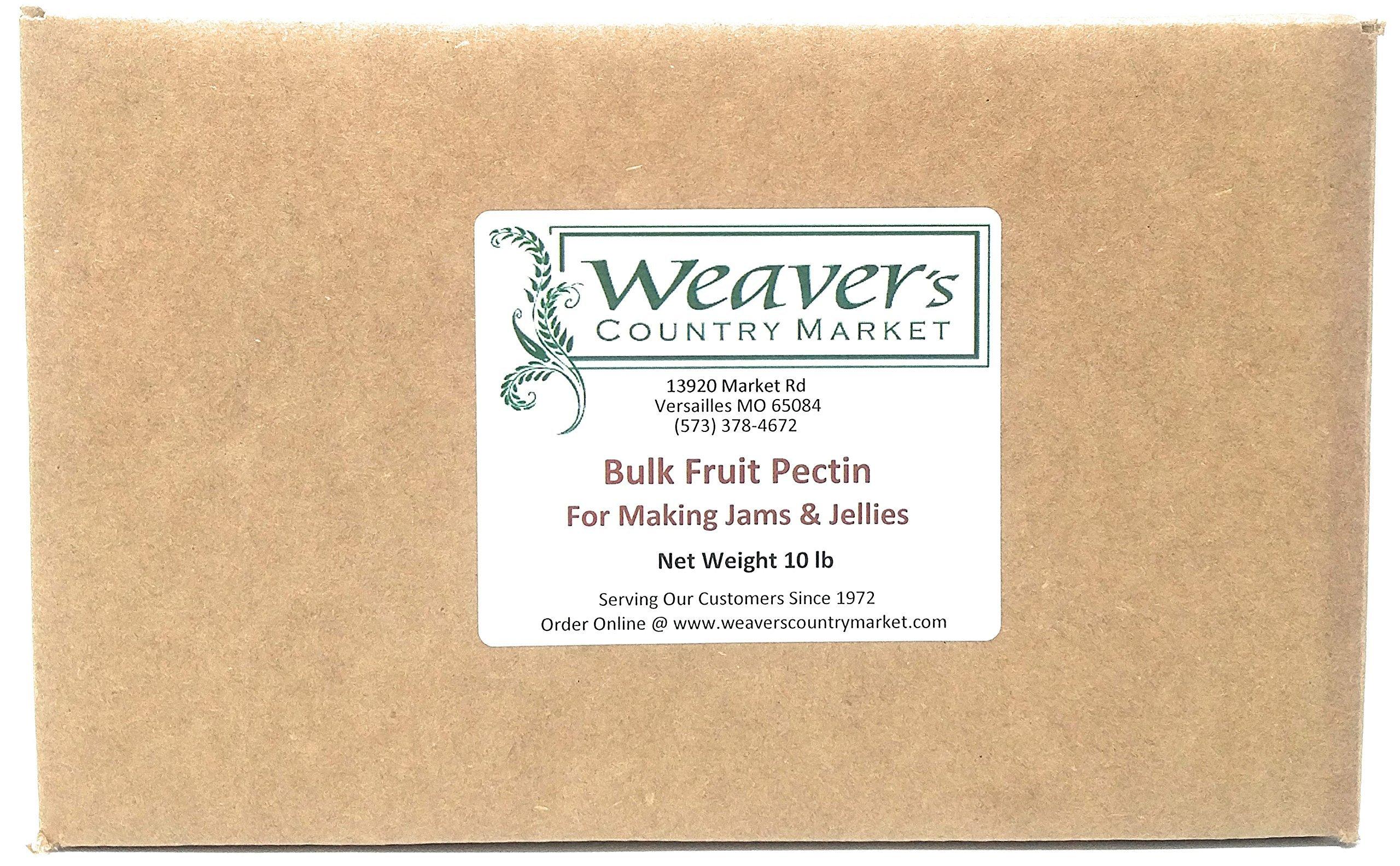Weaver's Country Market Bulk Fruit Pectin Mix for Making Jams & Jellies (10 Lb. Plastic Bag) by Weaver's Country Market (Image #3)