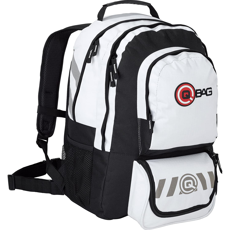 QBag Sac à dos 10 32 litres espace de stockage noir/blanc