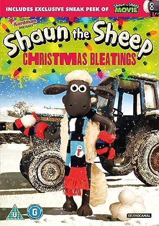 Shaun The Sheep - Christmas Bleatings [DVD]: Amazon.co.uk: DVD ...