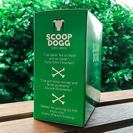 Perro Poo bolsas I biodegradable 240 bolsas 16 rollos | 100% verde ...